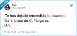Enlace a Licuadora = nuevo disco de C Tangana, por @Docstock80