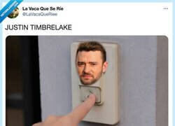 Enlace a Justin Timbrelake, por @LaVacaQueRiee