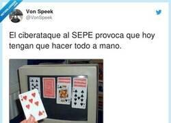 Enlace a Cómo los funcionarios se sobreponen al ataque al SEPE, por @VonSpeek