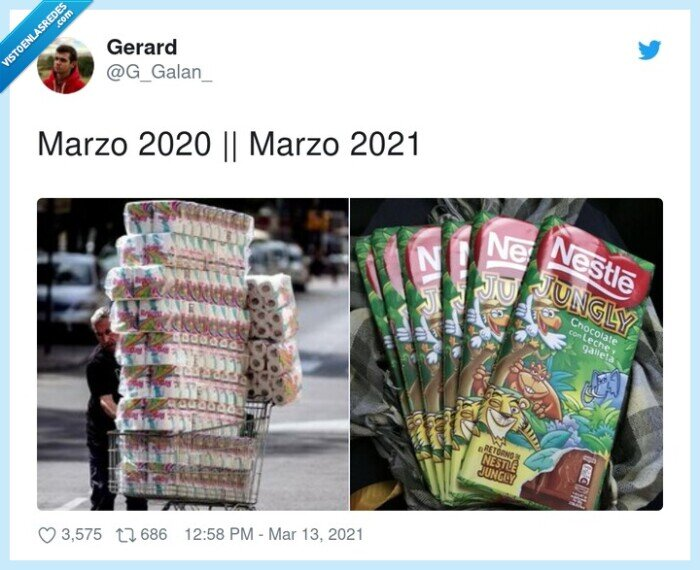 2020,2021,cambio,marzo,nestle jungly,papel de wc