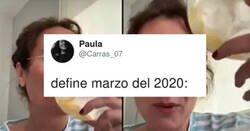 Enlace a Definición del marzo de 2020 en cuatro imágenes durísimas, por @Carras_07