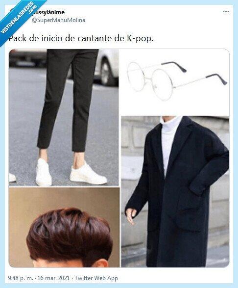 cantante,inicio,kpop,pack