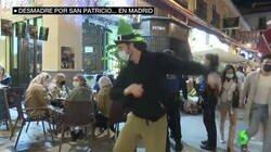 Enlace a Desmadre en Madrid por San Patricio, los guiris pasando de lo que dice la policía, por @quiquepeinado