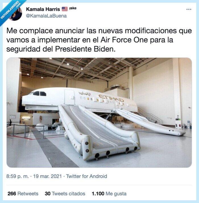 anunciar,avión,biden,caída,implementar,modificaciones,presidente,seguridad