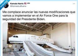 Enlace a Gracias Presidenta, por @KamalaLaBuena