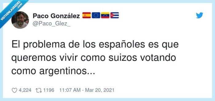 argentinos,españoles,problema,suizos,votar
