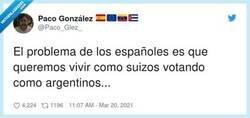 Enlace a Los españoles somos esclavos de nuestros ideales políticos y eso sólo beneficia a los políticos, por @Paco_Glez_