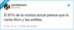 Enlace a ¿La banda sonora de Alvin y las ardillas no era de Camela?, por @oostituu