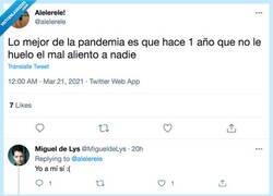 Enlace a Los que tienen halitosis están jodidos, por @alelerele