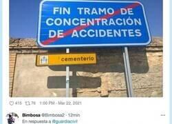 Enlace a El colmo de la casualidad: la Guardia Civil comparte dos señales que, juntas, causan escalofríos
