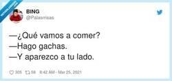 Enlace a Hago chas, por @Palasrrisas