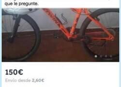 Enlace a Si alguien está interesado en una bici de montaña, que le pregunte y se prepare, por @NoSoyLaGente