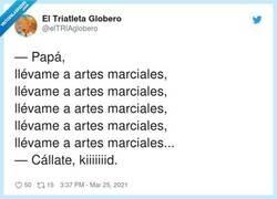 Enlace a Callate Kid, por @elTRIAglobero