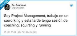 Enlace a Vigila el timing del squirting, no te vaya a estallar en la cara, por @grumositor