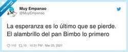 Enlace a El alambrillo del pan Bimbo es una de las cosas más retorcidas que conozco, por @MuyEmpanao