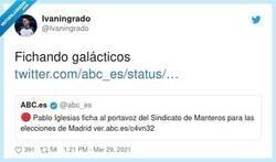 Enlace a Casi llegando al nivel de Florentino, pero en mal, por @Ivaningrado