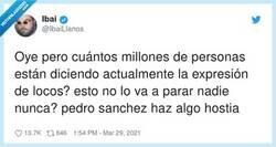 Enlace a DE LOCOS, por @IbaiLlanos