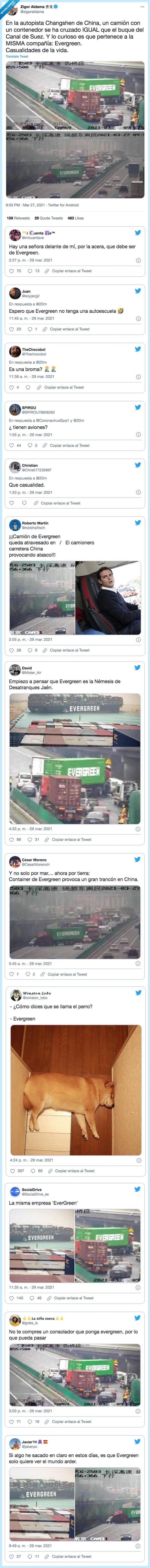 autopista,casualidades,compañía,contenedor,evergreen,pertenece