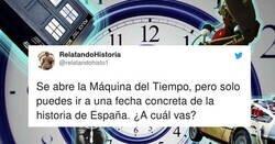 Enlace a La gente dice a qué fecha concreta volverían si pudieran retroceder en el tiempo, y... todos locos, por @relatandohisto1