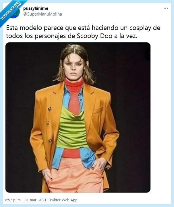 cosplay,modelo,scooby doo