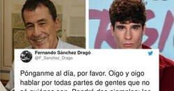 Enlace a Sánchez Dragó pregunta quiénes son 'Los Javis' y Javier Calvo se pasa Twitter con su respuesta