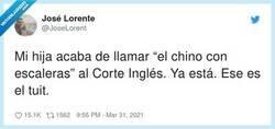 Enlace a En mi ciudad hay un Corte Chino, por @JoseLorent