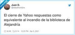 Enlace a Esa loca sensación de enterarte que un mexicano se había preguntado lo mismo 12 años atrás, por @elbathombre