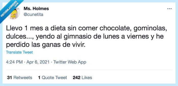 comer,deporte,Dieta,España,gimnasio,humor,perder,twitter,vida