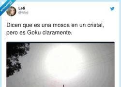 Enlace a Goku pidiendo fuerza de todos, por @leloji