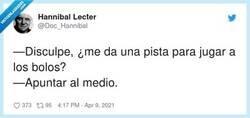 Enlace a Así Hannibal Lecter mataba a sus víctimas... de la risa, por @Doc_Hannibal