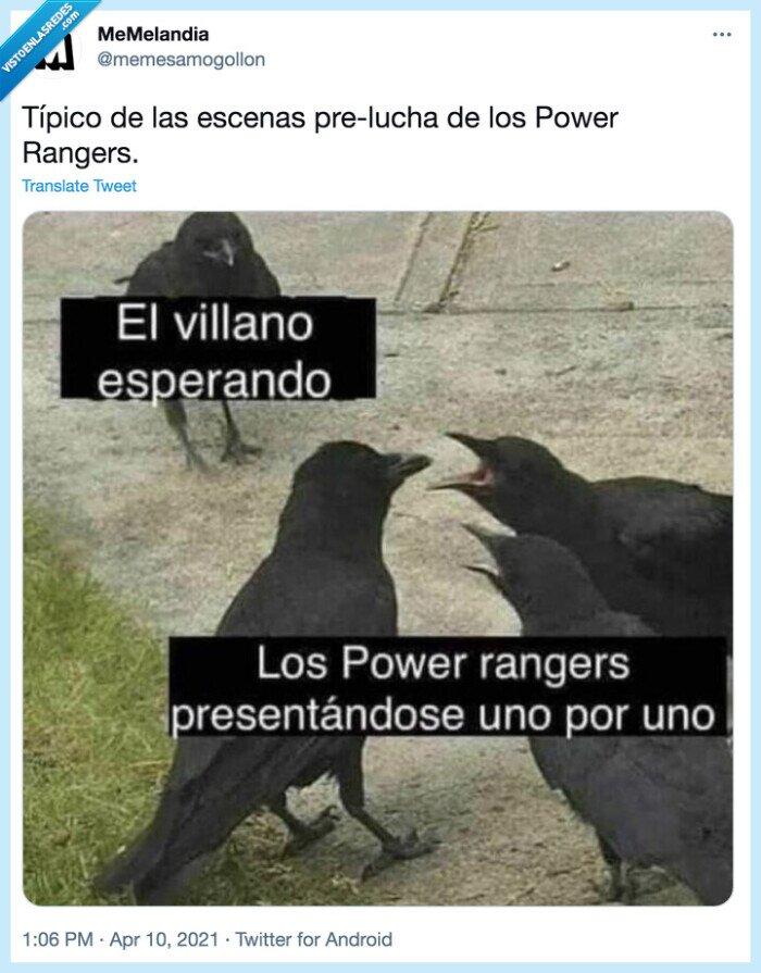 malo,Power Rangers,presentación