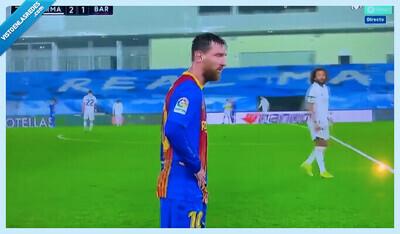 856720 - Messi, 'trending topic' instantáneo por lo que hizo en mitad del partido