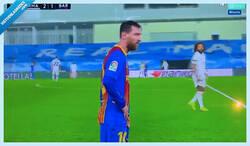 Enlace a Messi, 'trending topic' instantáneo por lo que hizo en mitad del partido
