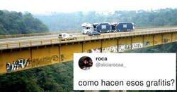 Enlace a La gente enloquece al darse cuenta de cómo se pintan estos graffitis, por @aliciarocaa_