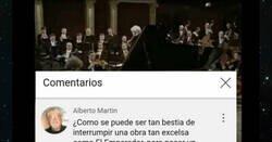 Enlace a Este señor mayor quejándose por los anuncios de Youtube cuando escuchaba música clásica es puro oro, por @SresEnInternet