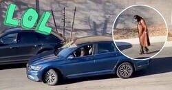 Enlace a Esta mujer intenta aparcar y las pasa canutas, el final es de lo mejorcito que hemos visto en un vídeo