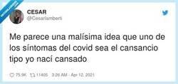 Enlace a Así no se puede distinguir, por @Cesarlamberti