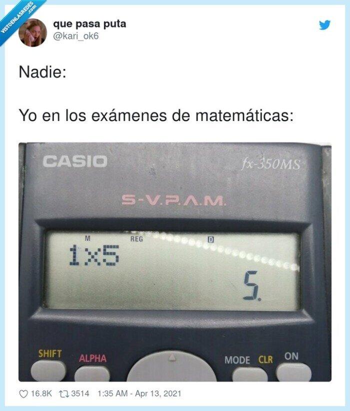 calculadora,exámenes,matemáticas