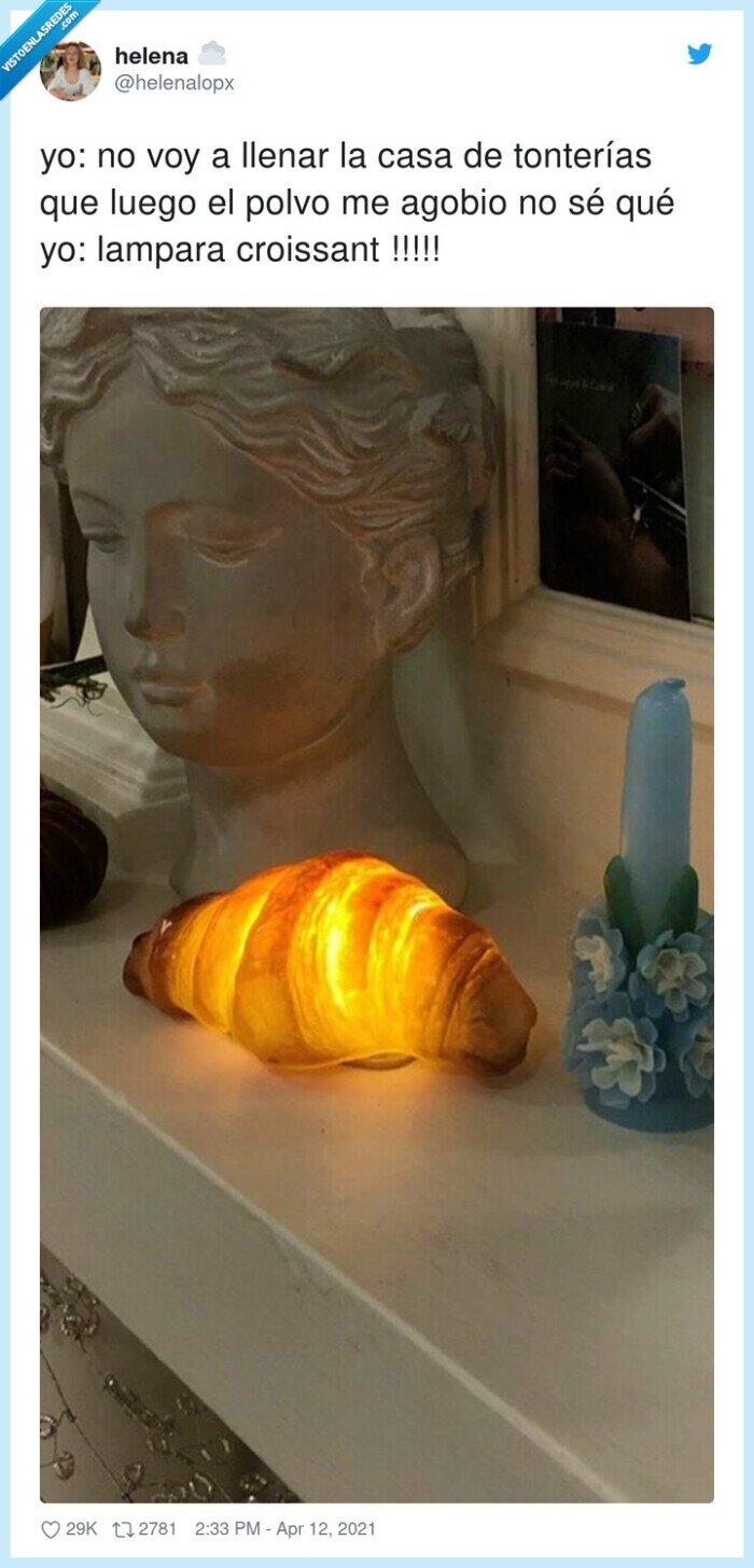 croissant,lampara,tonterías
