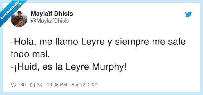 ley de murphy,leyre