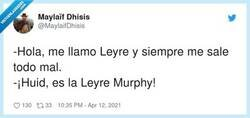 Enlace a Leyre Murphy, por @MaylaifDhisis