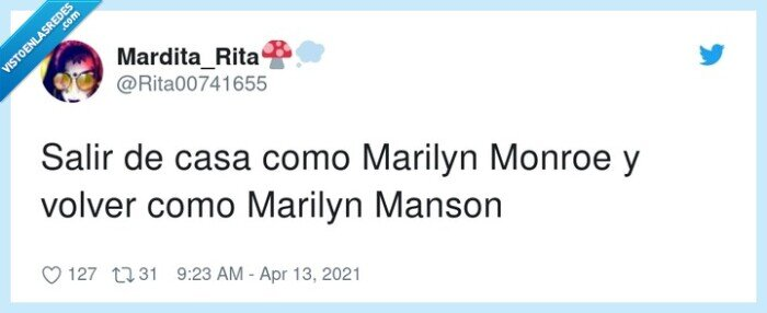 fiesta,marilyn manson,marilyn monroe,volver