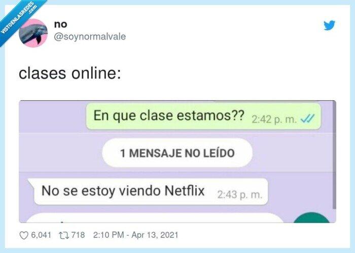 clases online,netflix