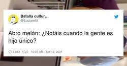 Enlace a La polémica está servida: ¿se nota cuando la gente es hijo único?, por @Luciarella