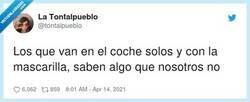 Enlace a Algo esconden, eso tenedlo claro, por @tontalpueblo