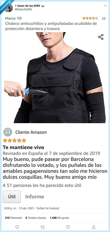 anticuchillos,antipuñaladas,chaleco,review