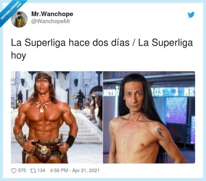 sandro rey,schwarzenegger,superliga