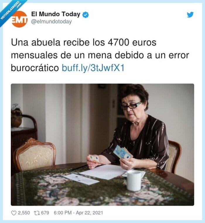 abuela,burocrático,euros,menas,mensuales,pensión,recibe