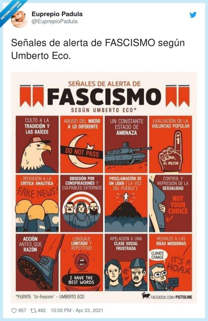 fascismo,señales,umberto eco
