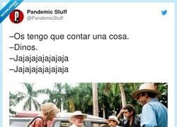 Enlace a Dinos, por @PandemicStuff